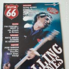 Revistas de música: RUTA 66 - Nº 133 - THE ROLLING STONES - FOO FIGHTERS- - CASI NUEVA.. Lote 237481325