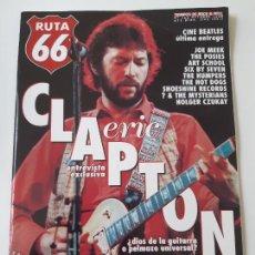 Revistas de música: RUTA 66 - Nº 143 - ERIC CLAPTON- THE BEATLES - CASI NUEVA.. Lote 237482990