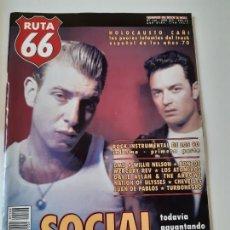 Revistas de música: RUTA 66 - Nº 146 - SOCIAL DISTORSION - MERCURY REV - CASI NUEVA.. Lote 237484455