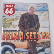 Revistas de música: RUTA 66 - Nº 147 - BRIAN SETZER- STRAY CATS- BRUCE SPRINGSTEEN- PHISH - CASI NUEVA.. Lote 237484745
