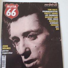 Revistas de música: RUTA 66 - Nº 149 - JOHNNY THUNDERS - TOM WAITS - LOS ENEMIGOS - CASI NUEVA.. Lote 237485915