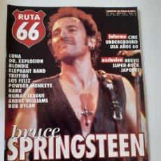 Revistas de música: RUTA 66 - Nº 151 - BRUCE SPRINGSTEEN - DR. EXPLOSION - BLONDIE - BOB DYLAN - CASI NUEVA.. Lote 237486440