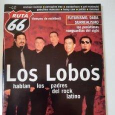 Revistas de música: RUTA 66 - Nº 156 - LOS LOBOS- THE CLASH - RAMONES - CASI NUEVA.. Lote 237490755
