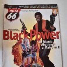 Revistas de música: RUTA 66 - Nº 157 - ESPECIAL BLAXPLOITATION - CASI NUEVA.. Lote 237490920