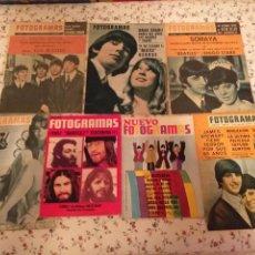 Revistas de música: THE BEATLES REVISTAS AÑOS 60. Lote 237492075