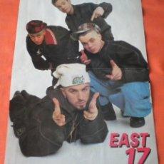 Revistas de música: EAST 17 (POSTER REVISTA POPCORN). Lote 237494275