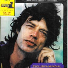 Revistas de música: REVISTA * POPULAR 1* ESPECIAL ROLLING STONES- POSTER MICK JAGGER -. Lote 237525000