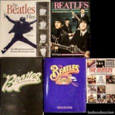 Revistas de música: LOTE DE 11 (+1) BUENOS LIBROS INGLESES Y AMERICANOS DE LOS BEATLES (1976-1999). Lote 129796371