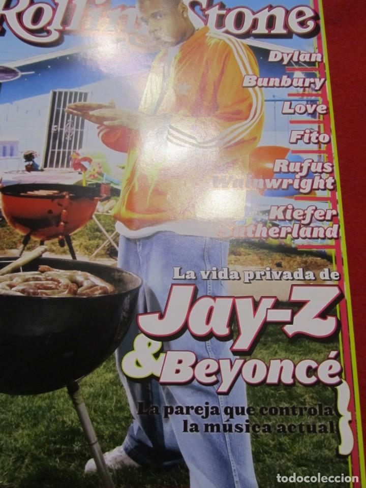 Revistas de música: REVISTA ROLLING STONES BEYONCE, JAY-Z, BUNBURY, PEARL JAM, RUFUS WAINWRIGHT,THE WHO,NACHO VEGAS,FITO - Foto 3 - 237900875