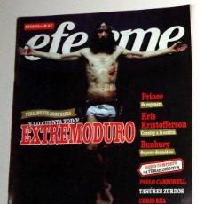 Revistas de música: REVISTA EFE EME Nº59 JUNIO 2004 ROCK. LOQUILLO RESEÑA ARTE Y ENSAYO. SABINA DVD. EXTREMODURO ROBE. Lote 238511645