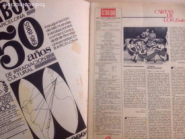 Revistas de música: BEATLES - LA ACTUALIDAD ESPAÑOLA NUM. 704 - CLAUDIA CARDINALE - Foto 5 - 239906380