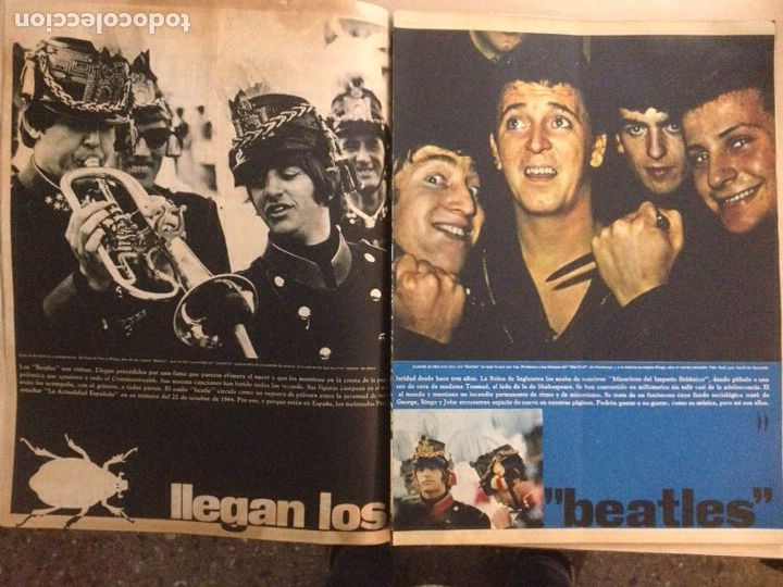 Revistas de música: BEATLES - LA ACTUALIDAD ESPAÑOLA NUM. 704 - CLAUDIA CARDINALE - Foto 7 - 239906380