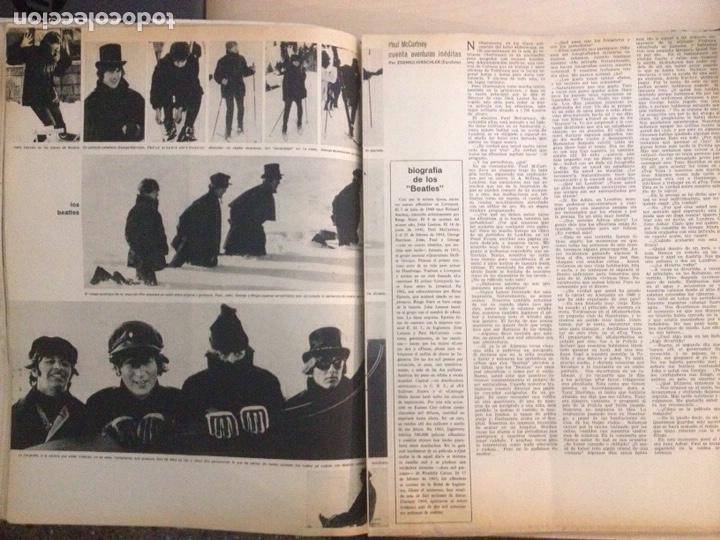 Revistas de música: BEATLES - LA ACTUALIDAD ESPAÑOLA NUM. 704 - CLAUDIA CARDINALE - Foto 8 - 239906380