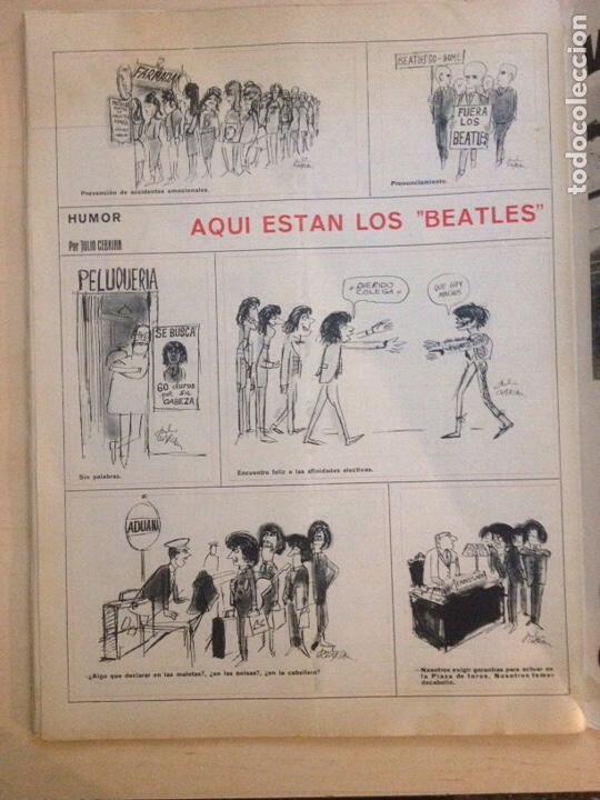 Revistas de música: BEATLES - LA ACTUALIDAD ESPAÑOLA NUM. 704 - CLAUDIA CARDINALE - Foto 14 - 239906380