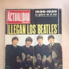 Revistas de música: BEATLES - LA ACTUALIDAD ESPAÑOLA NUM. 704 - CLAUDIA CARDINALE. Lote 239906380