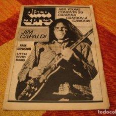 Riviste di musica: REVISTA DISCO EXPRES Nº 472 NEIL YOUNG CHICK COREA JIM CAPALDI IGGY POP BLOQUE LITTLE RIVER BAND 78. Lote 240018105