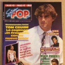 Revistas de música: SUPER POP N°317 (MAYO, 1990). MADONNA, RIVER PHOENIX, TOM CRUISE, POSTERS.... Lote 164335694