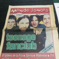 Revistas de música: MONDO SONORO - AÑO III - Nº 15 ENERO. 1996 EL ULTIMO DE LA FILA-SPRING-AZTEC CAMERA-LOS IMPOSIBLES. Lote 240106005