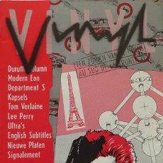 Riviste di musica: VINYL Nº 7. DURUTTI COLUMN, LEE PERRY… HOLANDA OCTUBRE 1981. INCLUYE FLEXIDISC. Lote 240379995