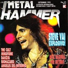 Revistas de música: REVISTA METAL HAMMER NUMERO 70 STEVE VAI. Lote 240558335