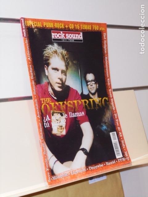 REVISTA ROCK SOUND ESPECIAL PUNK-ROCK THE OFFSPRING (Música - Revistas, Manuales y Cursos)