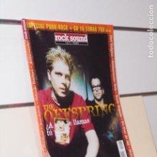 Riviste di musica: REVISTA ROCK SOUND ESPECIAL PUNK-ROCK THE OFFSPRING. Lote 241089275
