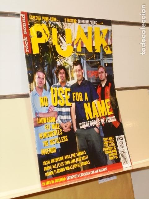 REVISTA ROCK SOUND ESPECIAL PUNK Nº 5 (Música - Revistas, Manuales y Cursos)