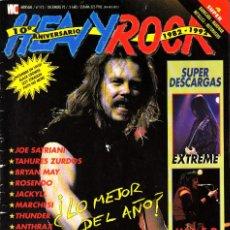 Revistas de música: REVISTA HEAVY ROCK NUMERO 112 METALLICA. Lote 241739150