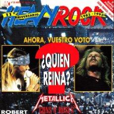 Riviste di musica: REVISTA HEAVY ROCK NUMERO 120 METALLICA, GUNS AND ROSES ¿QUIÉN REINA?. Lote 241743675