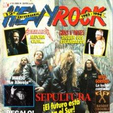 Revistas de música: REVISTA HEAVY ROCK NUMERO 125 SEPULTURA. Lote 241746610