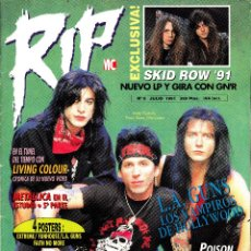 Revistas de música: REVISTA RIP NUMERO 5 L.A.GUNS. Lote 241761925