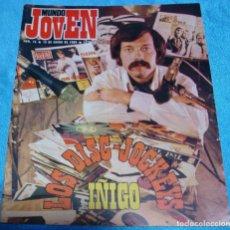 Revistas de música: MUNDO JOVEN Nº 16 1969 EL BUSCADO.BEATLES ROLLING, ETC. IMPORTANTE LEER DESCRIPCION. Lote 242869745