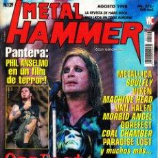 Revistas de música: REVISTA METAL HAMMER NUMERO 129 OZZY OSBOURNE. Lote 243228975