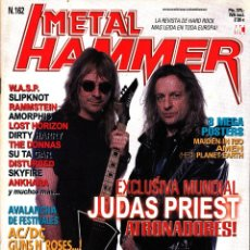Revistas de música: REVISTA METAL HAMMER NUMERO 162 JUDAS PRIEST. Lote 243244850