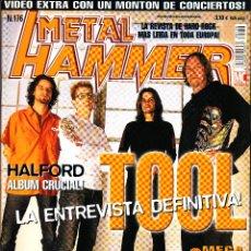 Revistas de música: REVISTA METAL HAMMER NUMERO 176 TOOL. Lote 243246415