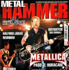 Revistas de música: REVISTA METAL HAMMER NUMERO 189 METALLICA. Lote 243248310