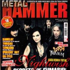 Revistas de música: REVISTA METAL HAMMER 237 NIGHTWISH. Lote 243252570