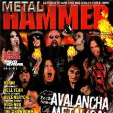 Revistas de música: REVISTA METAL HAMMER NUMERO 238 AVALANCHA METÁLICA. Lote 243253000