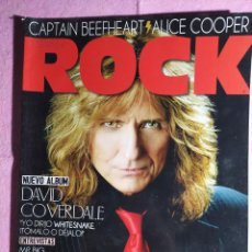 Revistas de música: MAGAZINE THIS IS ROCK 81 - DAVID COVERDALE - THIN LIZZY - GENESIS - ALICE COOPER. Lote 243352805