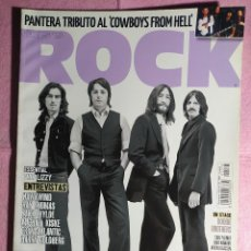 Revistas de música: MAGAZINE THIS IS ROCK Nº 78 BEATLES THIN LIZZY PANTERA HAWKWIND DOOBIE BROTHERS. Lote 243365925