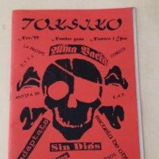 Revistas de música: TOKSIKO #1 - INADAPTATS - SIN DIOS - ESCUELA DE ODIO .... Lote 243537860