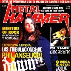 Revistas de música: REVISTA METAL HAMMER 174 NUMERO PHIL ANSELMO. Lote 243605840