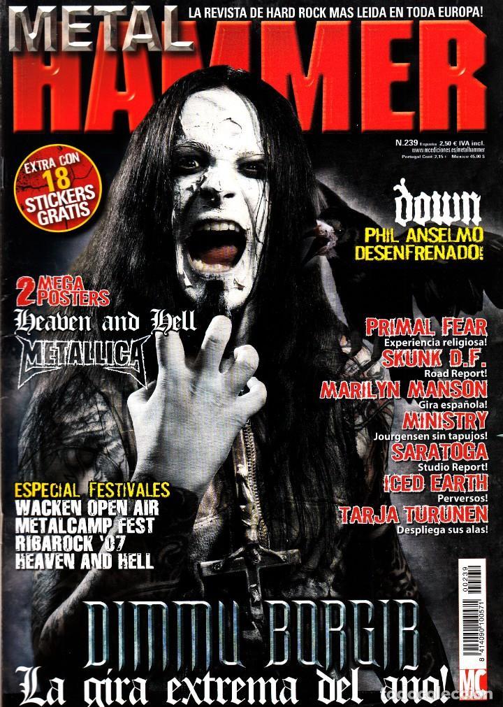REVISTA METAL HAMMER NUMERO 239 DIMMU BORGIR (Música - Revistas, Manuales y Cursos)