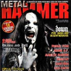 Revistas de música: REVISTA METAL HAMMER NUMERO 239 DIMMU BORGIR. Lote 243606670