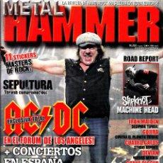 Revistas de música: REVISTA METAL HAMMER NUMERO 255 AC/DC. Lote 243607695