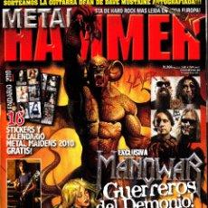 Revistas de música: REVISTA METAL HAMMER NUMERO 266 MANOWAR. Lote 243608185