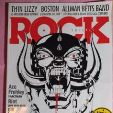 Revistas de música: MAGAZINE THIS IS ROCK 196 - MOTORHEAD - THIN LIZZY - BOSTON - ALLMAN BETTS BAND. Lote 243982130