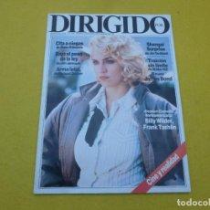 Revistas de música: REVISTA CINE DIRIGIDO - Nº 149 - MADONNA - BILLY WILDER - JAMES BOND. Lote 244006845