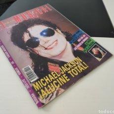 Revistas de música: EL GRAN MUSICAL 371. M. JACKSON. NIRVANA. TOREROS MUERTOS. DEEE-LITE. LOS ROMEOS. OIL. IRON MAIDEN. Lote 244478820