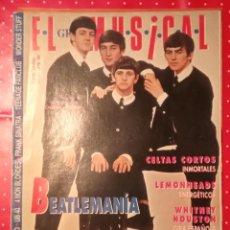 Revistas de música: BEATLES REVISTA EL GRAN MUSICAL 1993 CON POSTER. Lote 244625605